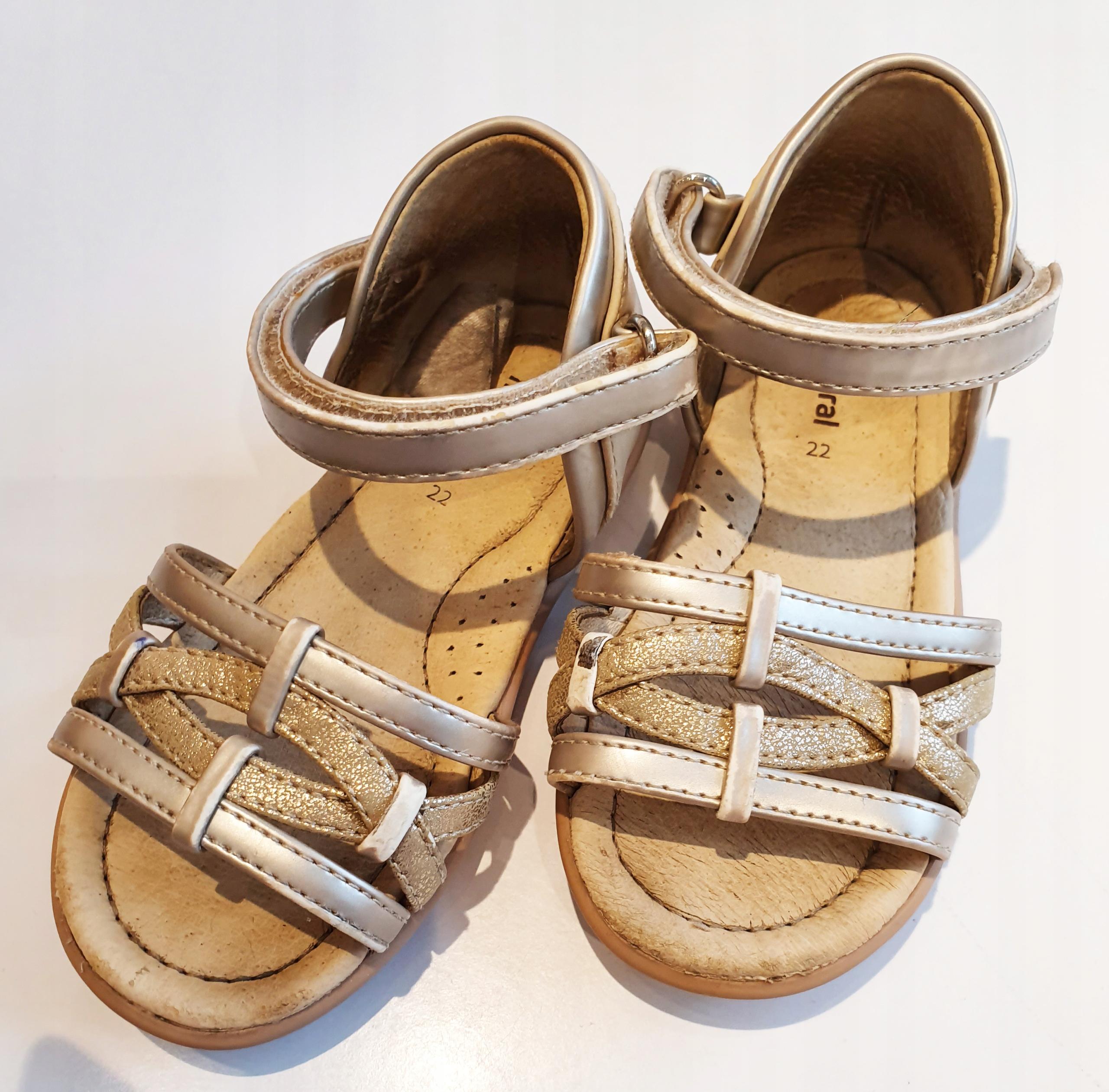 Buty Mayoral sandałki złote 22