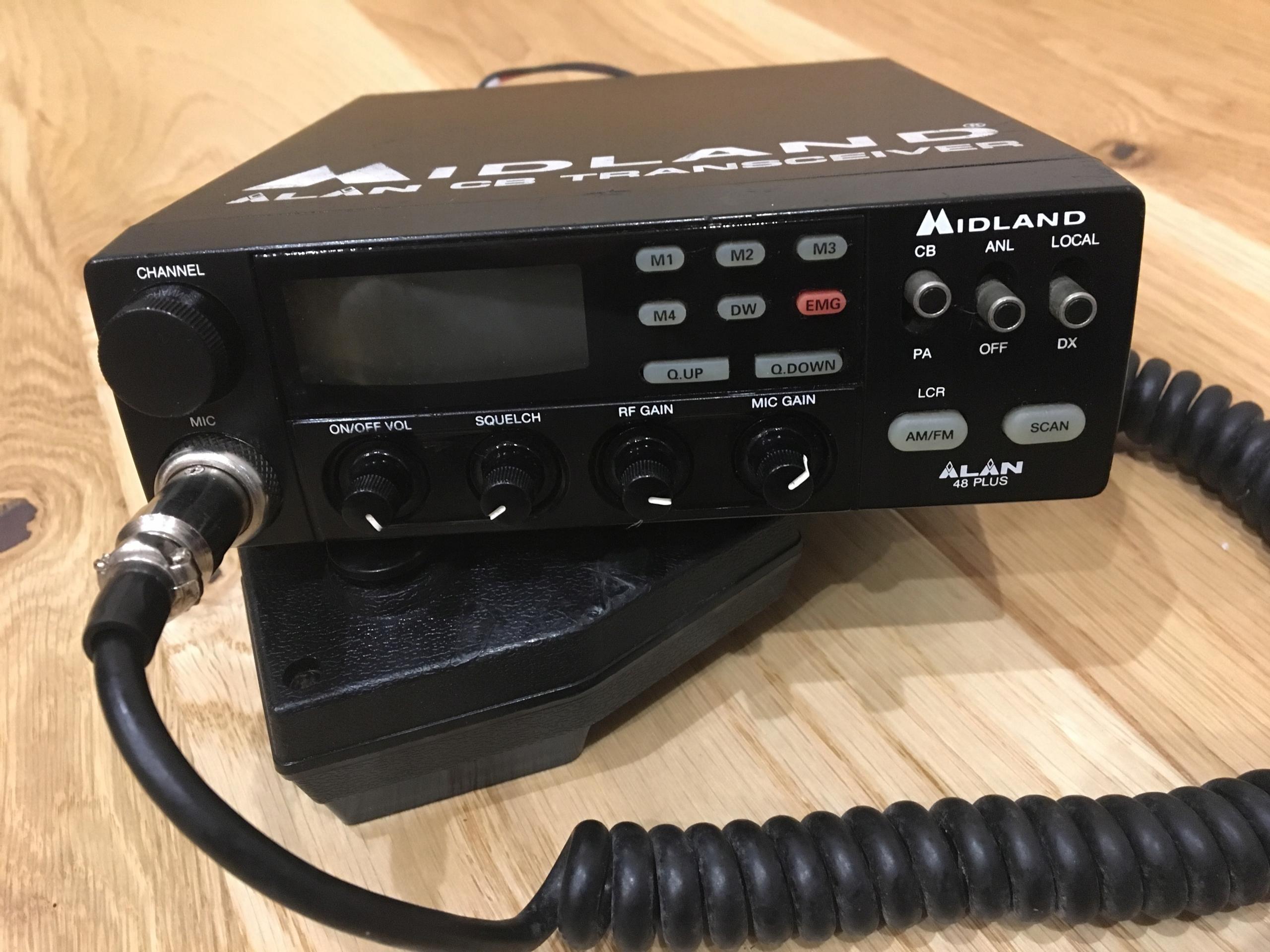 CB RADIO MIDLAND 48 PLUS