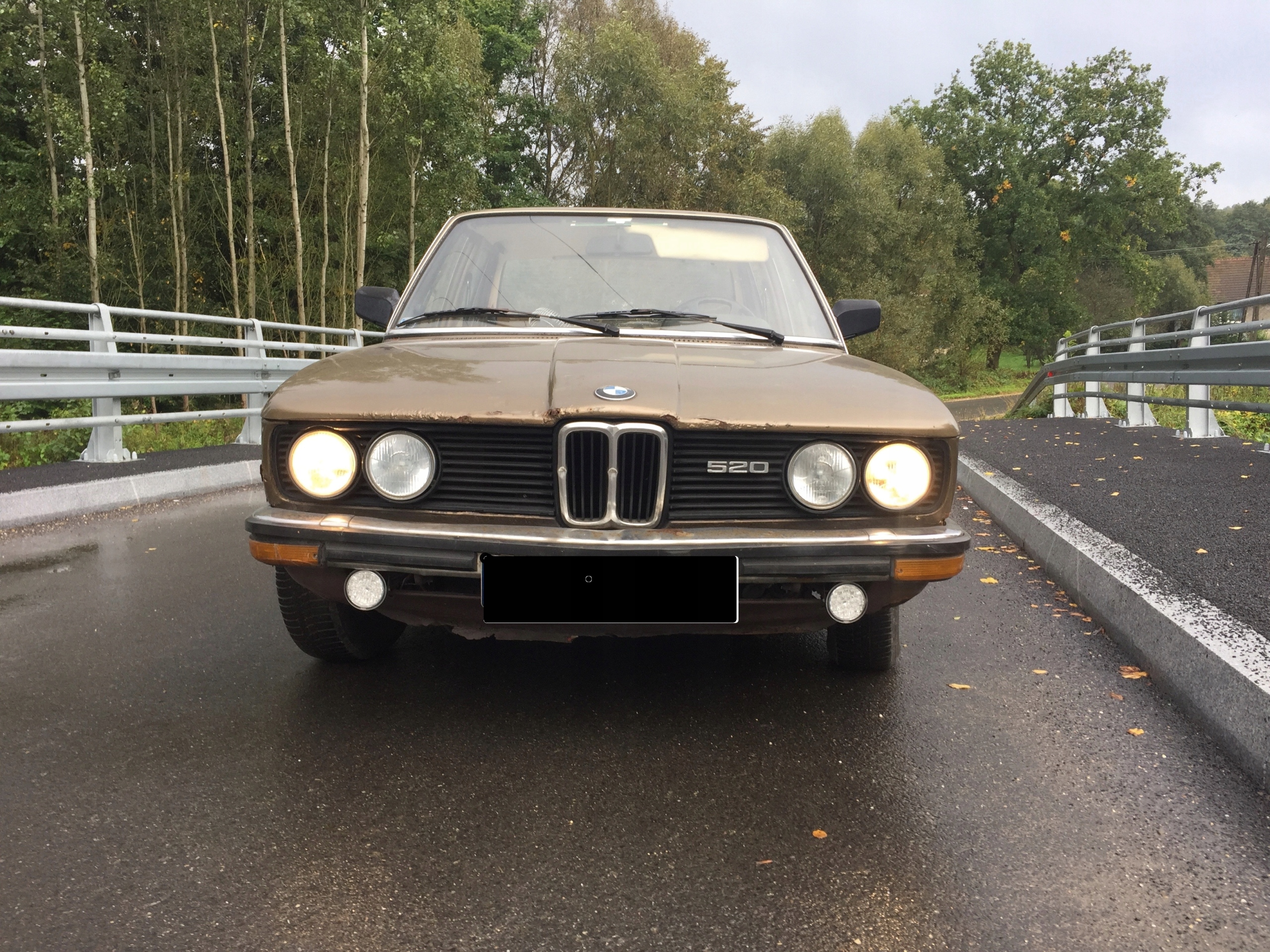 BMW 520 E12 1979r REKIN