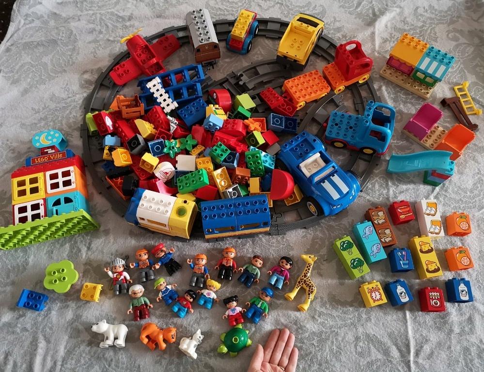 Lego Duplo klocki super zestaw