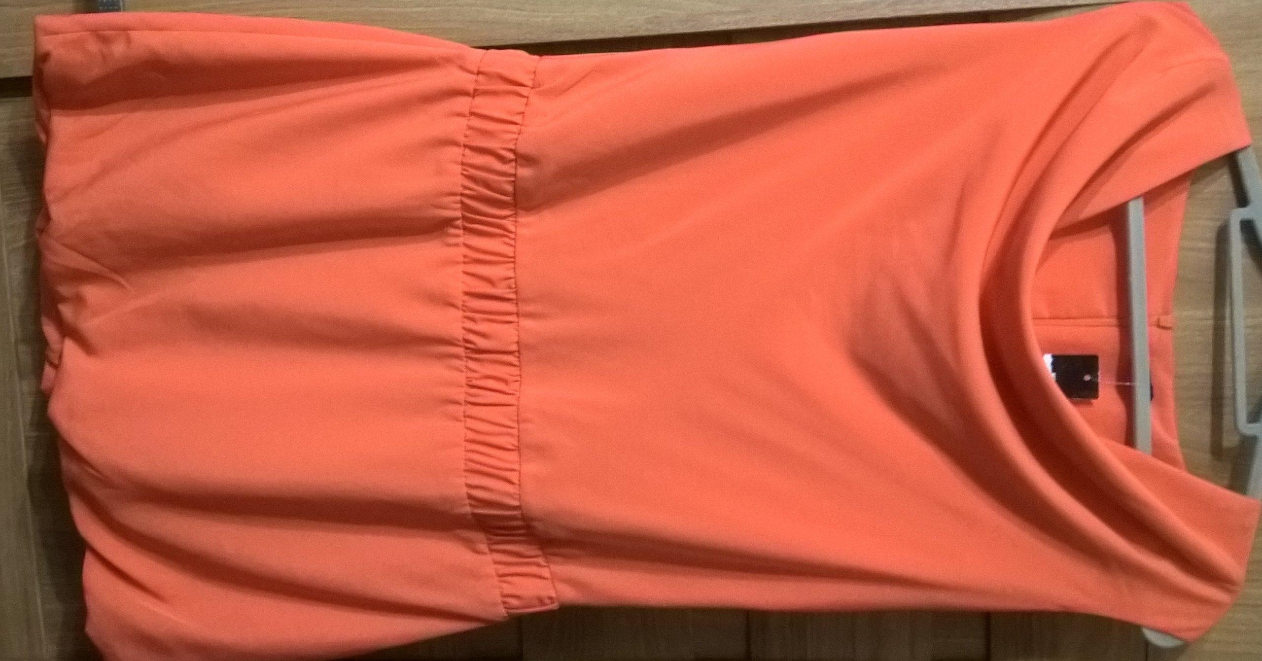 Mohito sukienka bombka pomarańczowa rozm. 40 Nowa