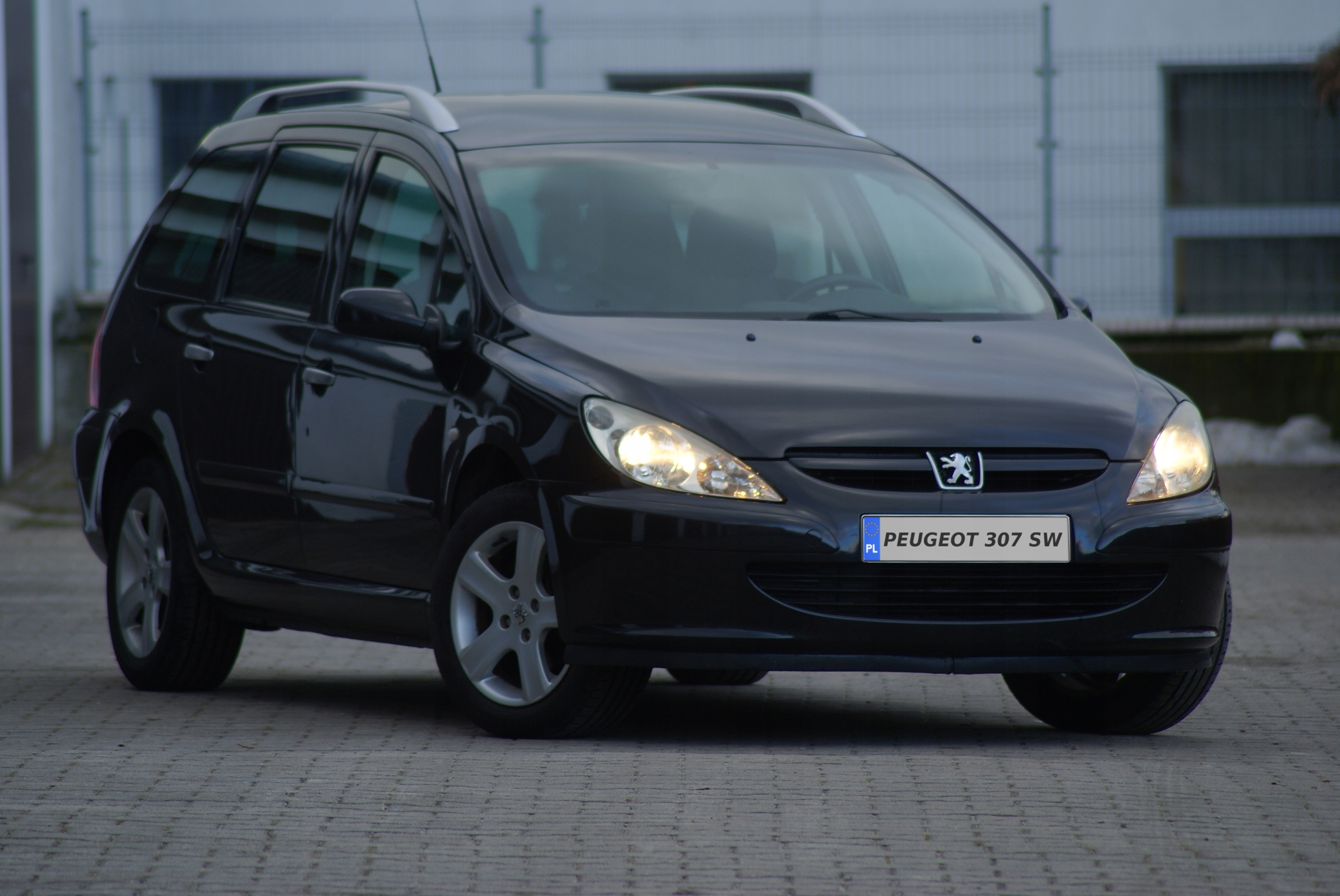 Peugeot 307 SW # Panorama Dach #