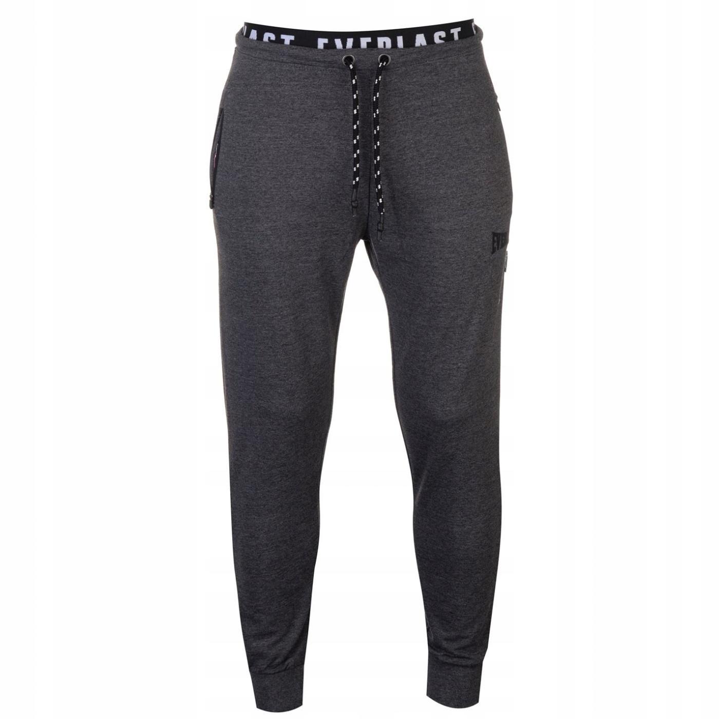 Everlast Jacquard Jogging spodnie dresowe XL
