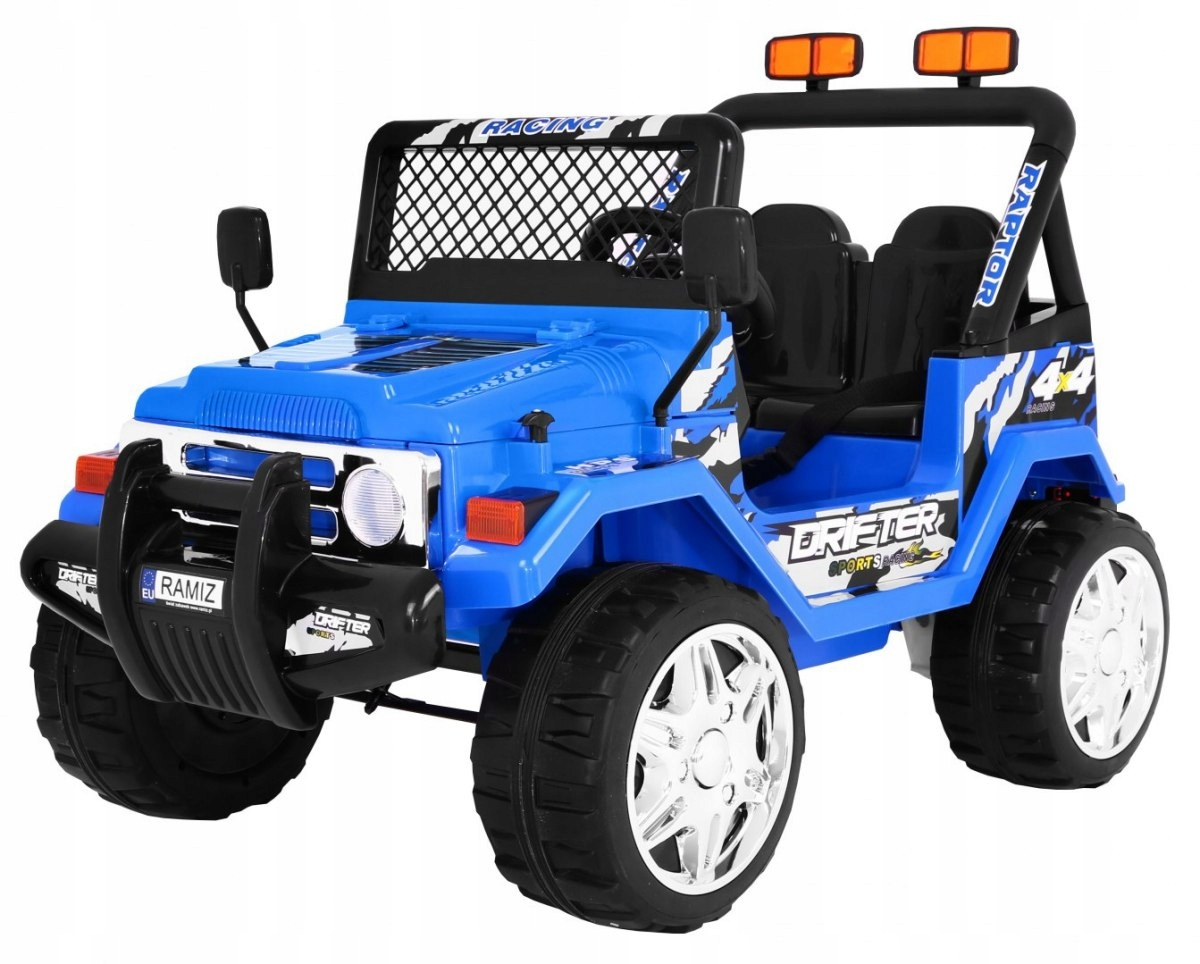JEEP RAPTOR Drifter Koła EVA 2.4G Niebieski