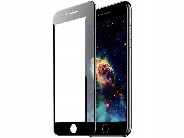 TEMPERED GLASS 6D iPhone 6 6s PLUS 5.5 black
