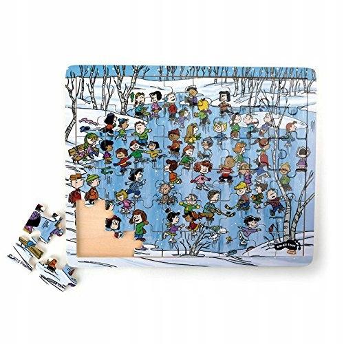 Legler Winter Peanuts Puzzle (Multi-Colour)