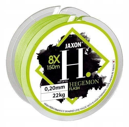 Jaxon plecionka Hegemon 8x Flash 0,16mm 150m