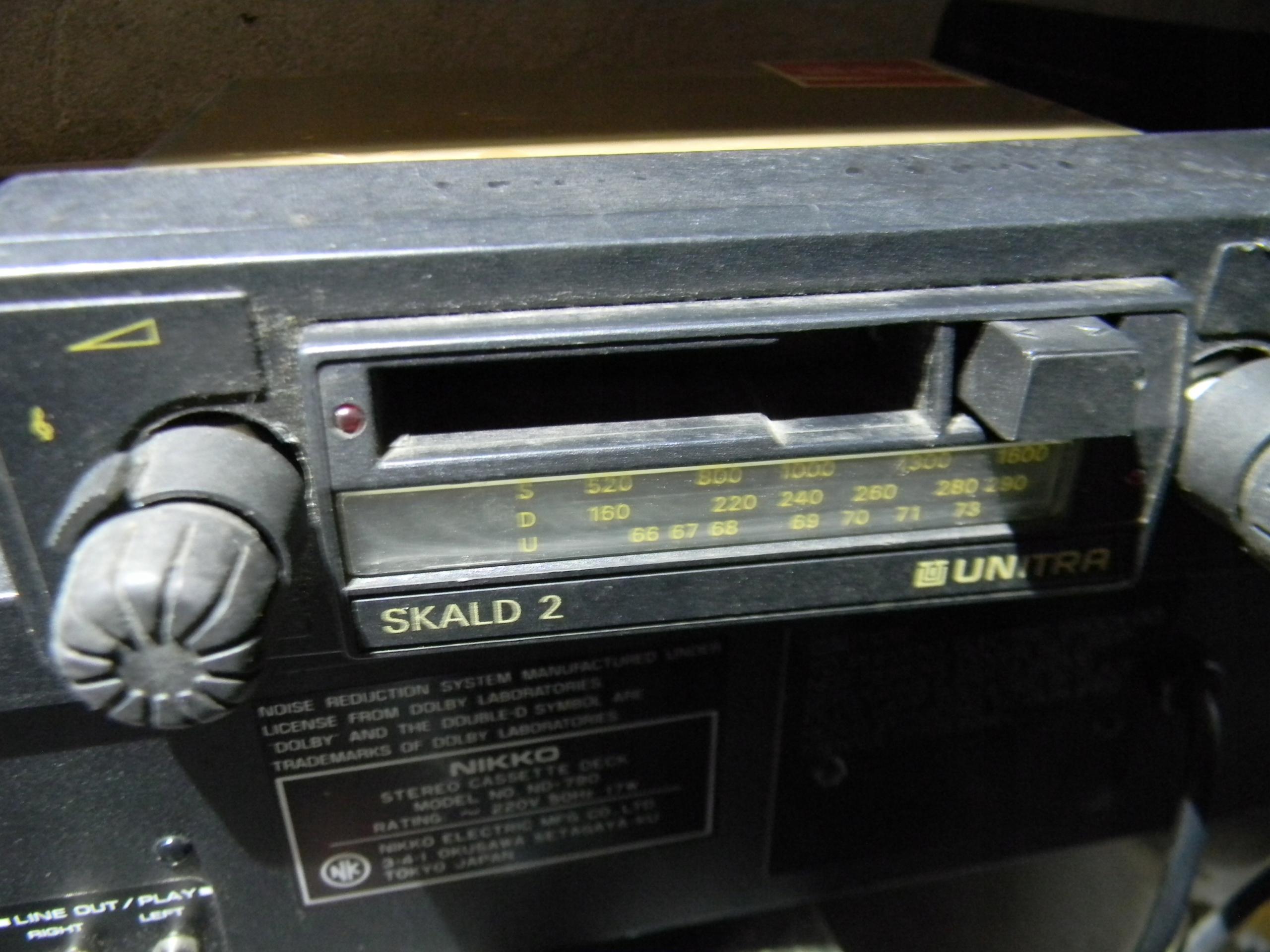 Radio samochodowe SKALD 2