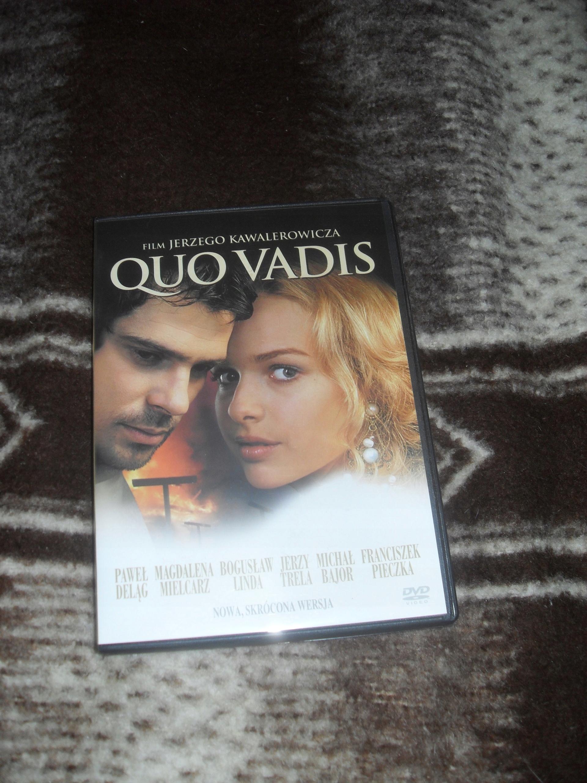 Quo Vadis dvd Bogusław Linda