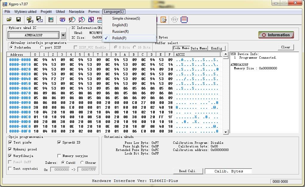 Programator TL866II Plus Xgpro następca TL866A - 7813348696
