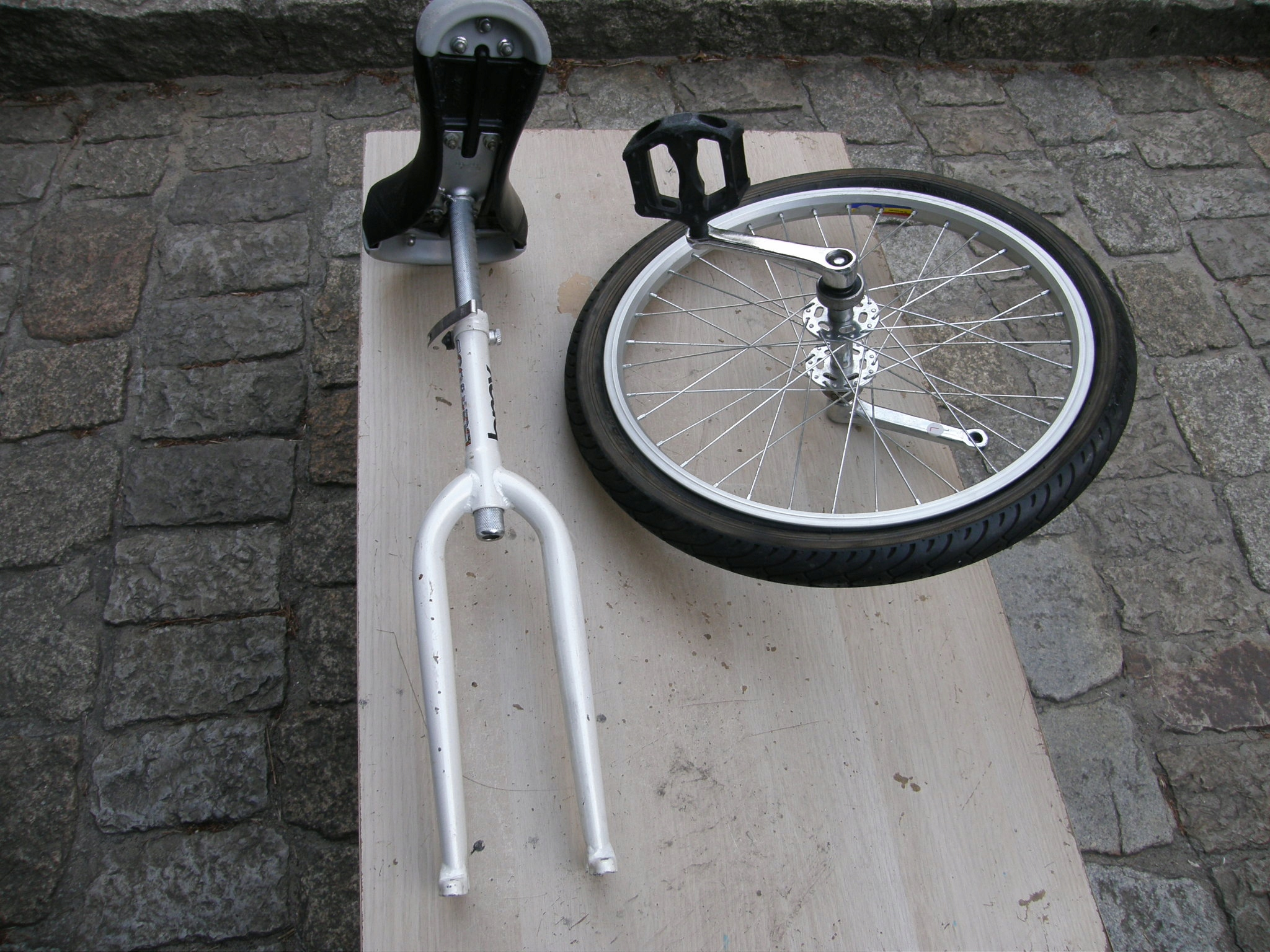 Monocykl GoRide Go Ride- niekompletny z Niemiec