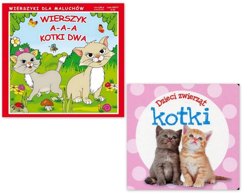 Kotek Dzieci Zwierząt Aa Kotki Dwa Koty Sztywne St
