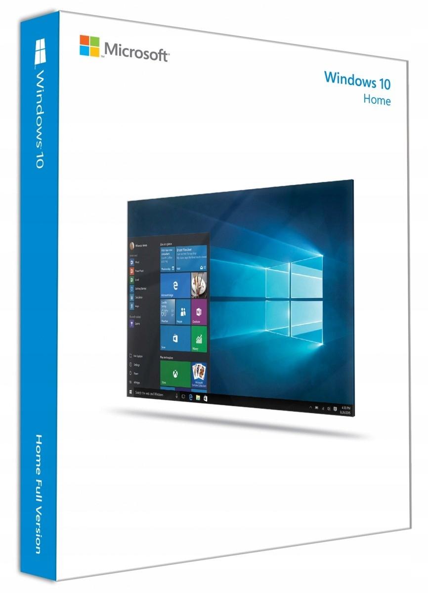 Windows 10 Home PL Box 32/64bit USB RS KW9-00497.: