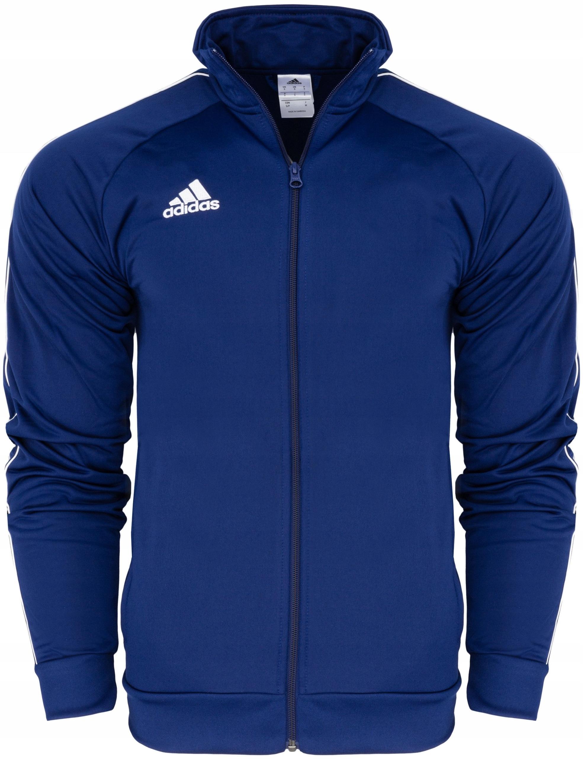 Bluza Piłkarska ADIDAS Cienka Treningowa SPORT M