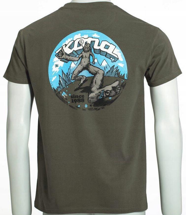 Kona T-shirt Freeweelin Green L Wa-wa