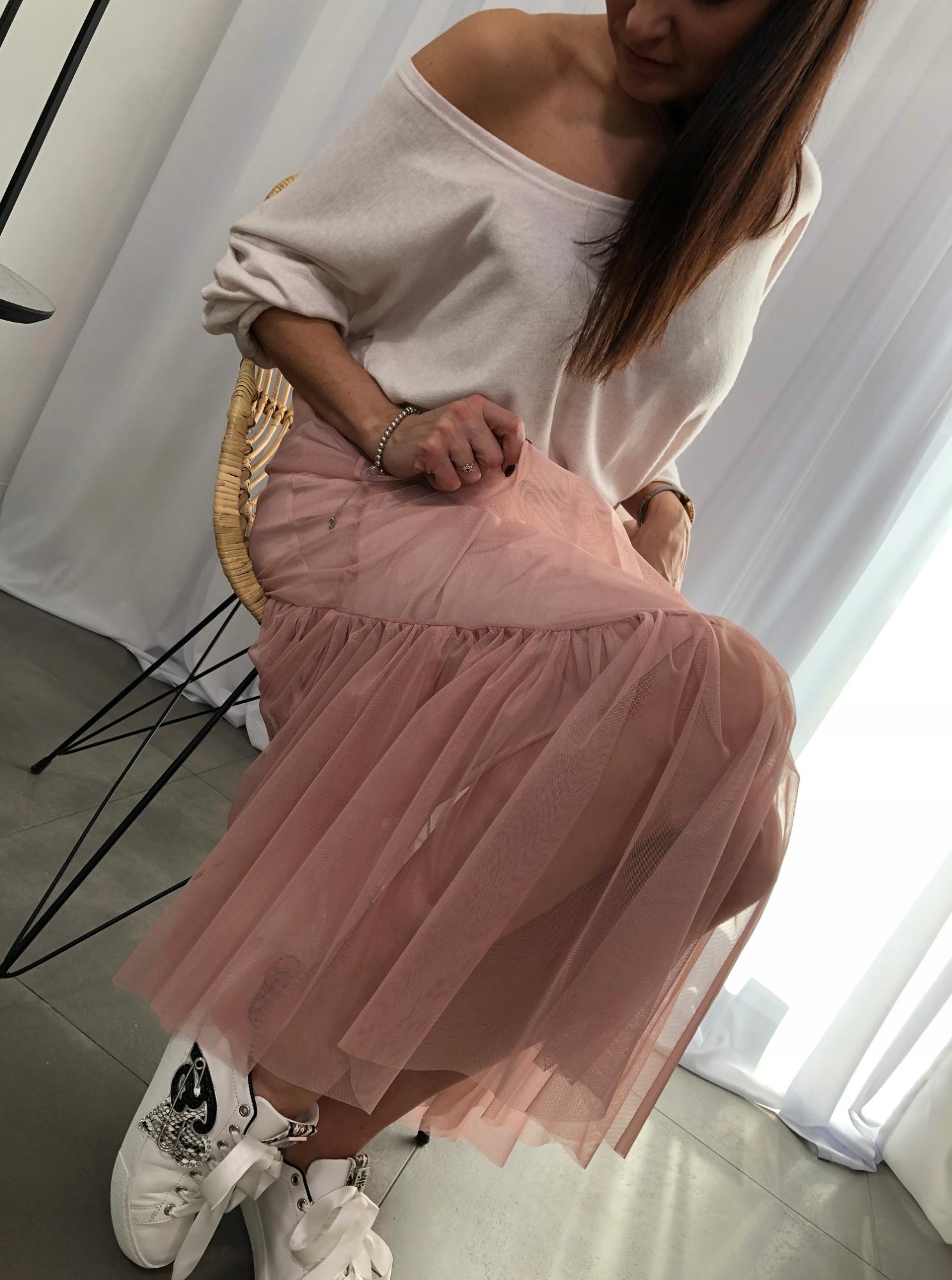 Plisowana spódnica biała Goldshine Sklep internetowy