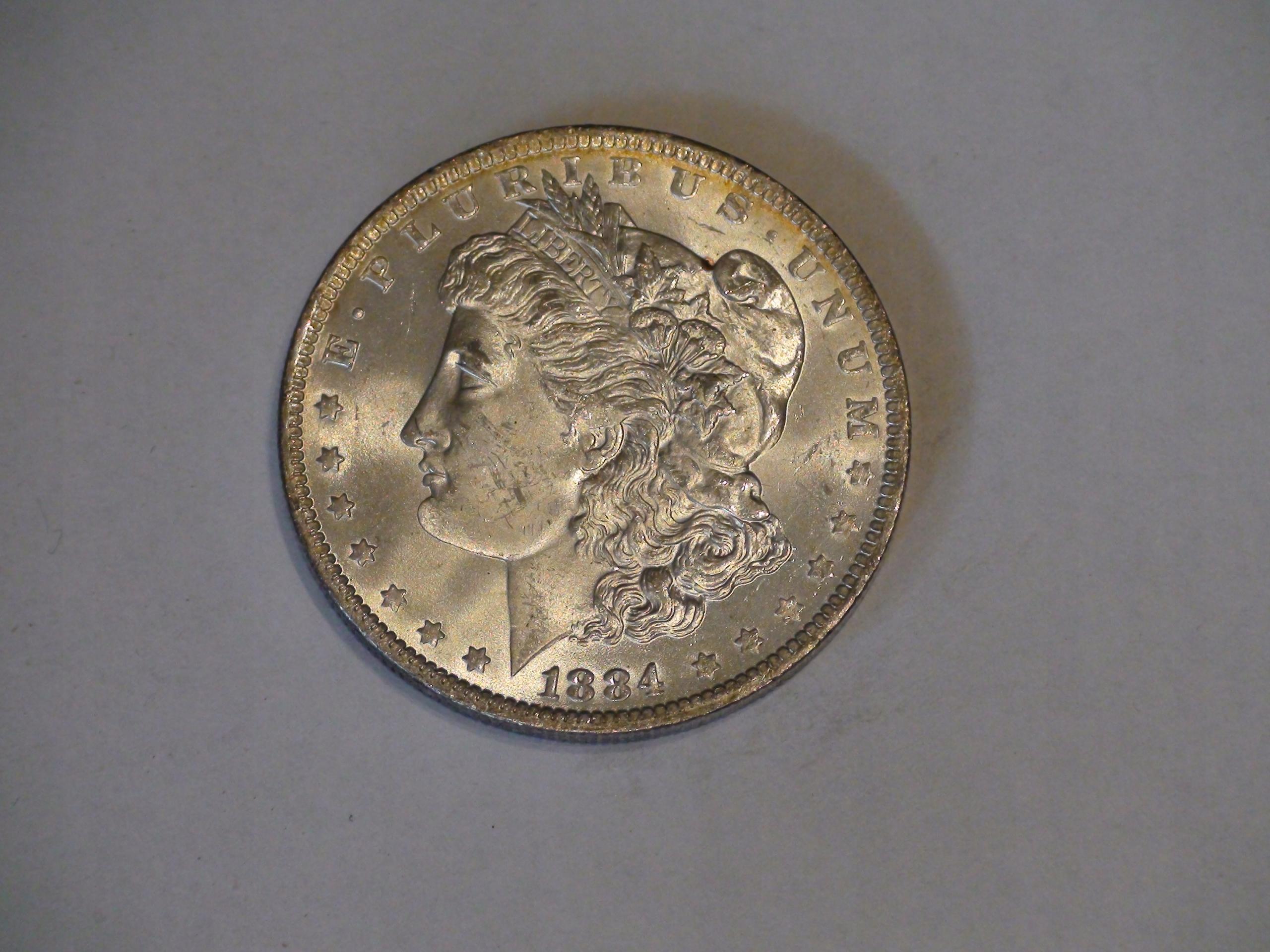 One Dollar Morgan 1884O