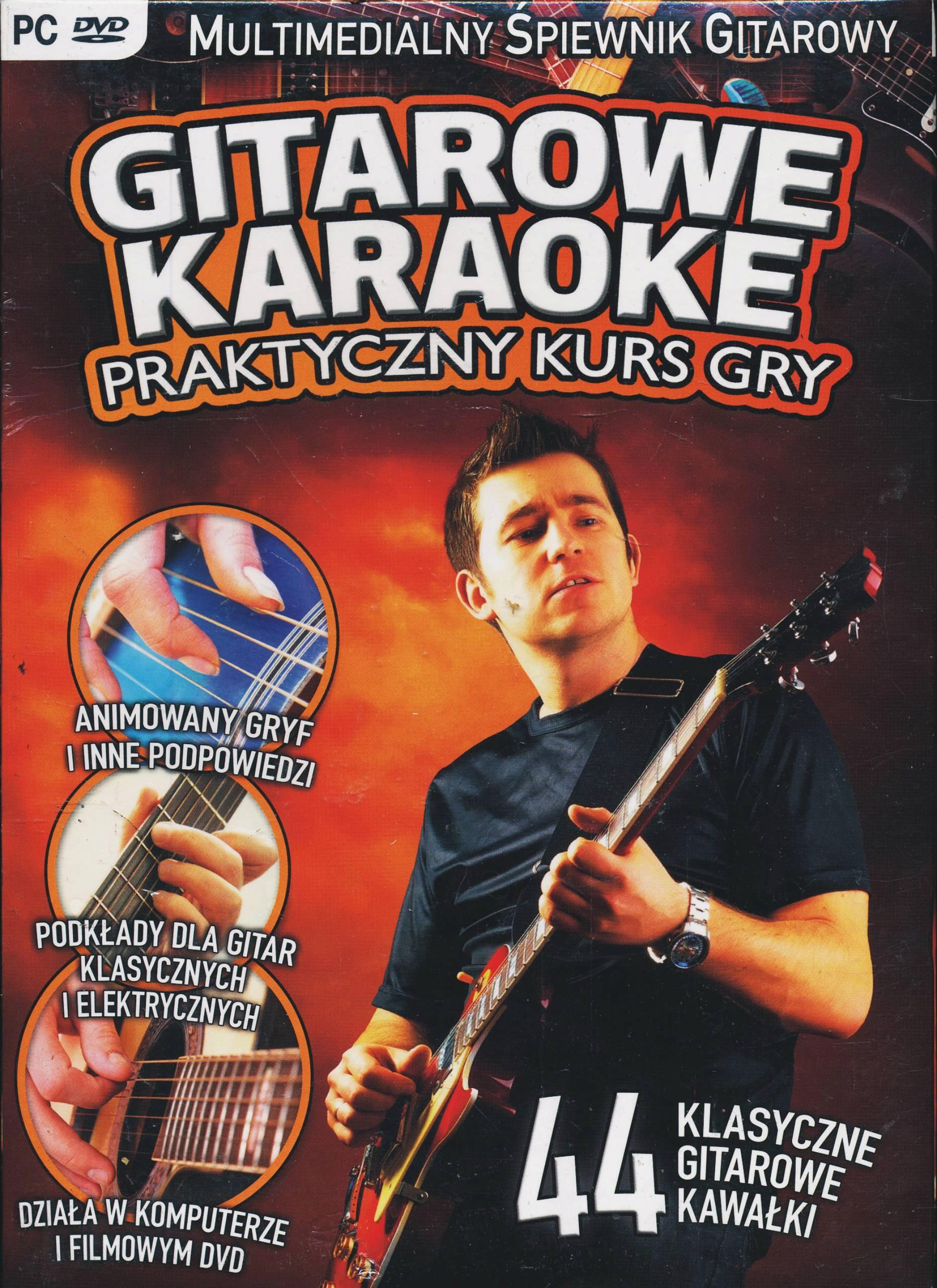 Gitarowe karaoke - Praktyczny kurs gry DVD