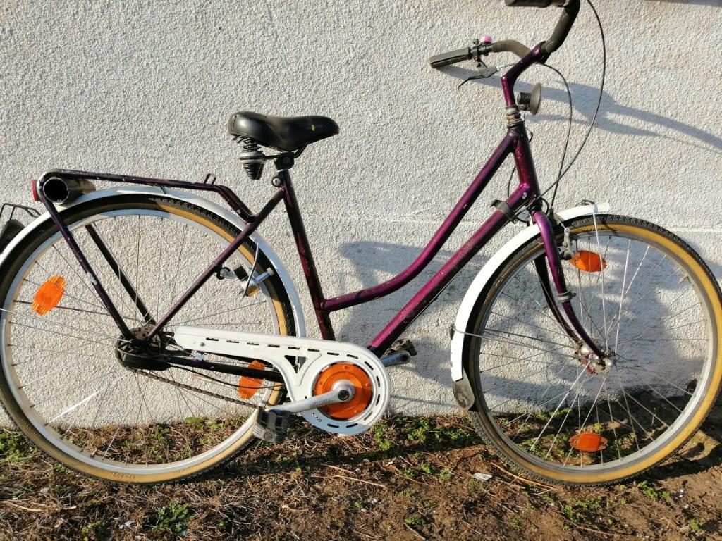 rower damka kettler miejski