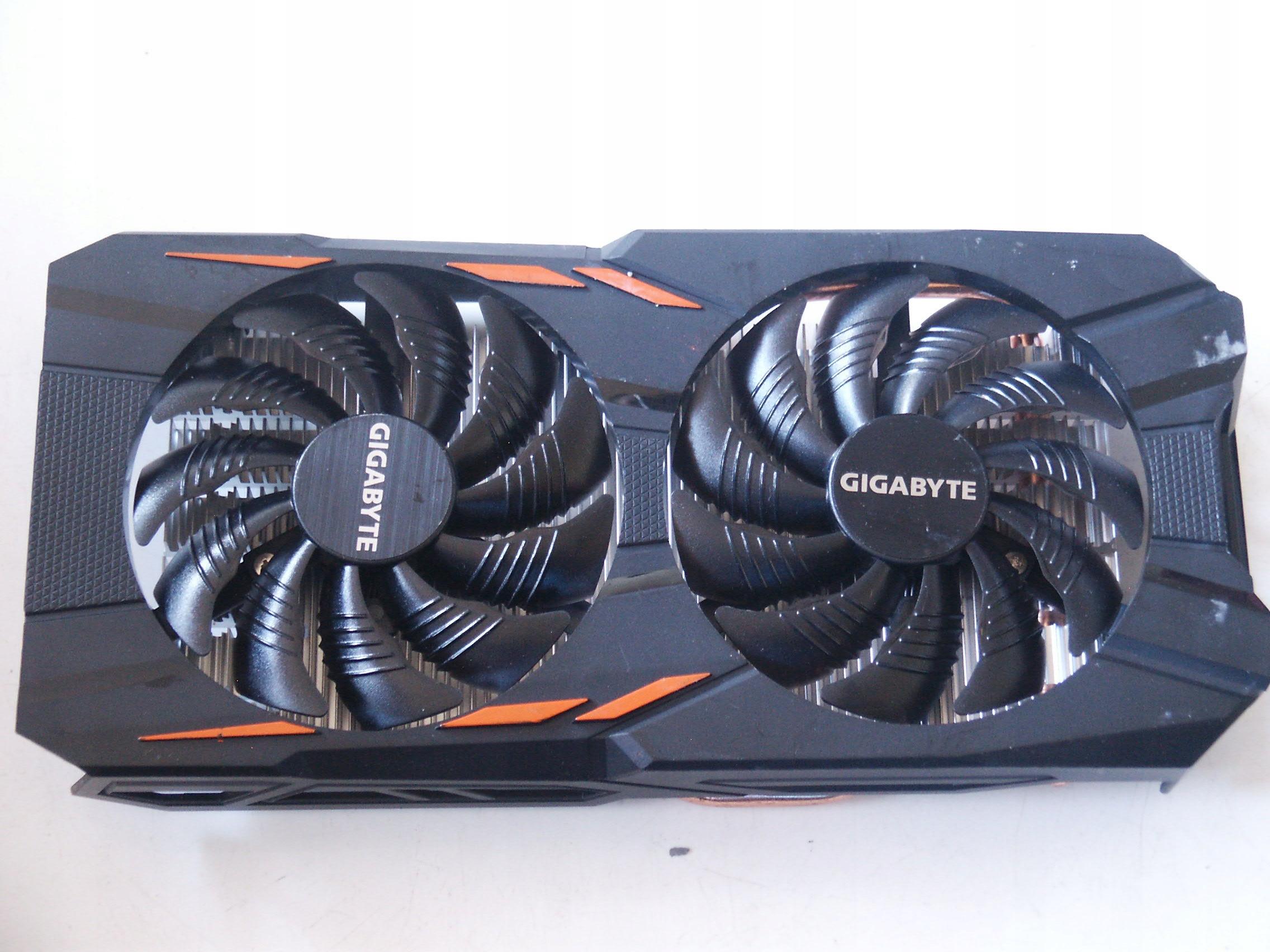 Chłodzenie karty graficznej Gigabyte WindForce C08