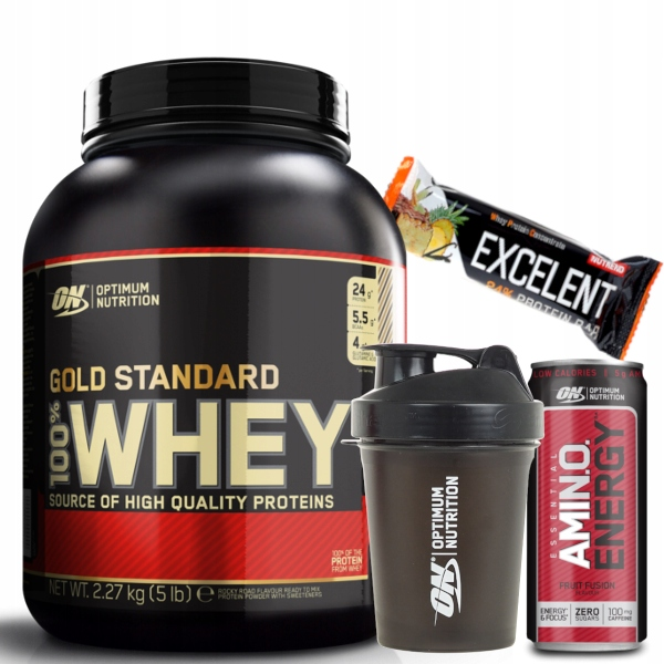Optimum Nutrition Gold Standard Whey 2270g cynamon