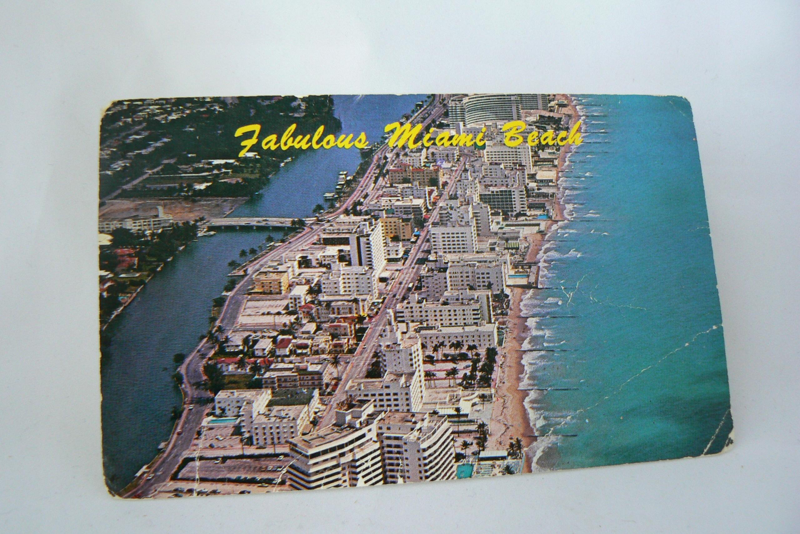 15-Pocztówka USA, Floryda Miami, z obiegu, 1975