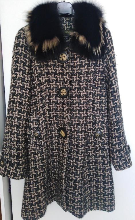 Gucci płaszcz vintage lata 70
