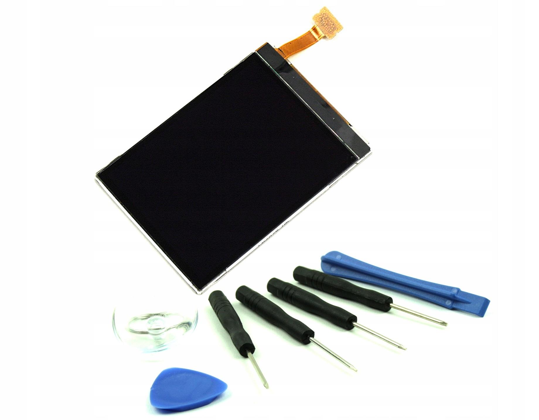 EKRAN WYŚWIETLACZ LCD NOKIA E52 E66 N78 6210N N82