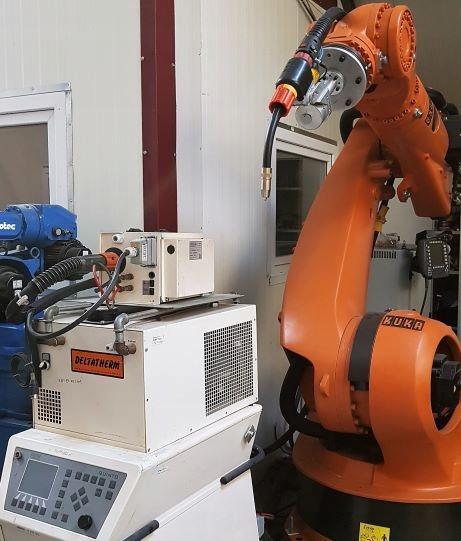 Wspaniały ROBOT SPAWALNICZY - KUKA - CLOOS - 7652026056 - oficjalne archiwum UI76