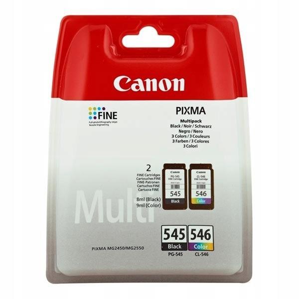 Canon PG-545 CL-546 black color blistr z ochroną