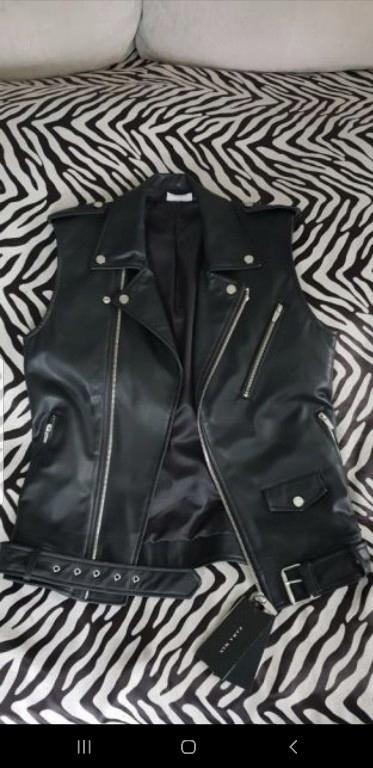 Kamizelka Zara Rock Style czarna