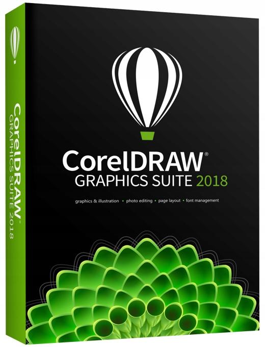 CorelDRAW Graphics Suite 2018 PL BOX / 2 stanowisk