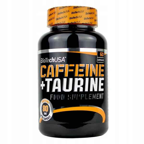 BioTech USA Caffeine + Taurine 60 caps KOFEINA