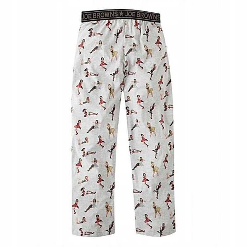 Joe Browns SJ67102 Spodnie Piżamowe Męskie XL