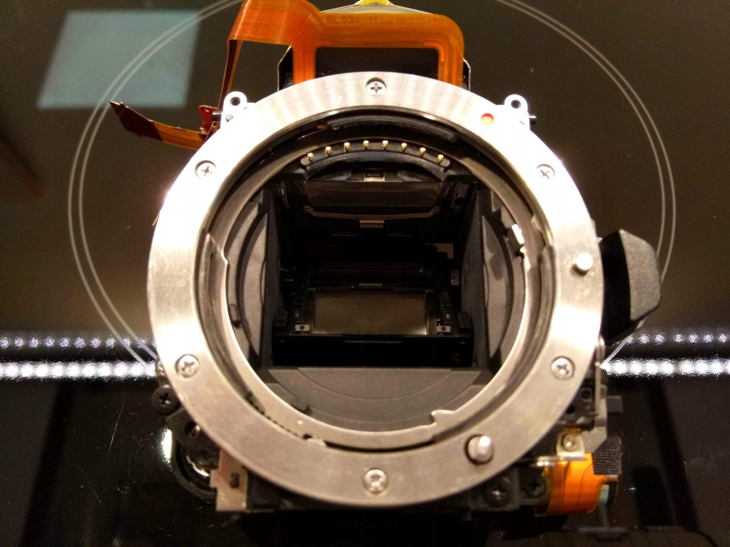 Komora lustra Mirror Box do Sony DSLR a450 a550