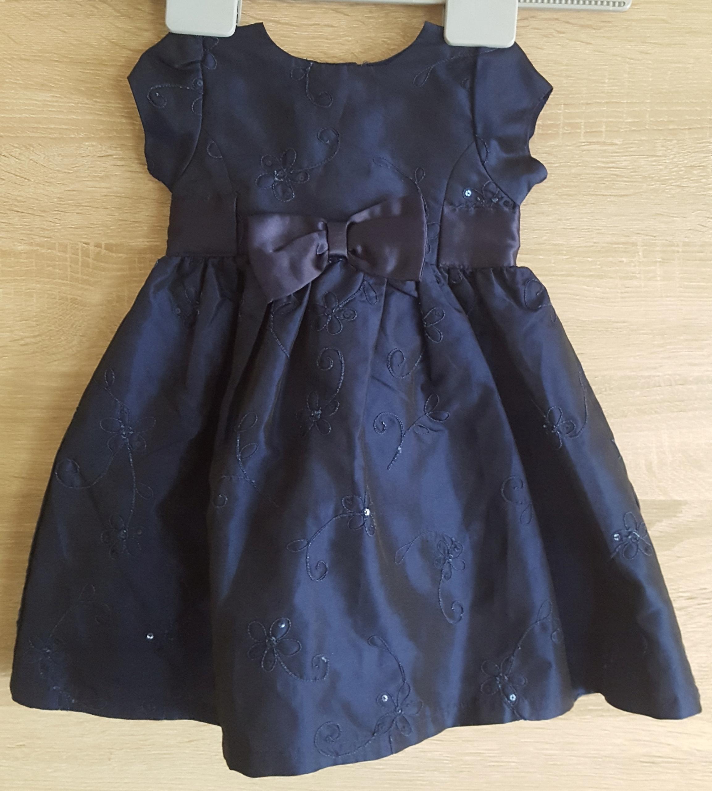 Sukienka dziewczęca EARLY DAYS 9-12 mies 74/80 cm.