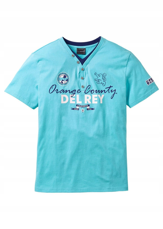 T-shirt 2 w 1 Regular niebieski 56/58 (XL) 933004