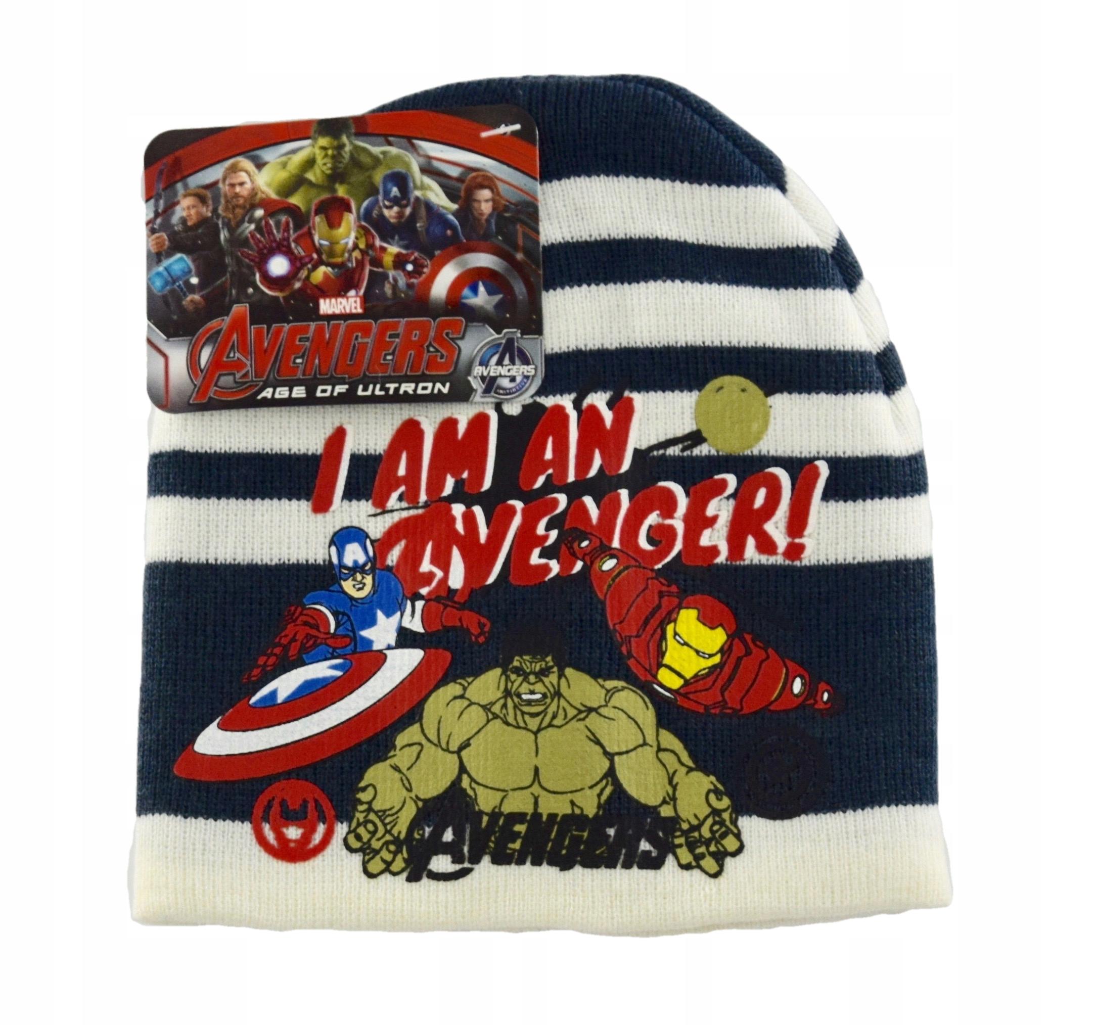Ciepła czapka Avengers 52 Licencja
