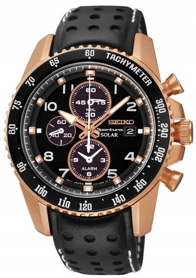 24h zegarek SEIKO Sportura Solar SSC274 GWARANCJA