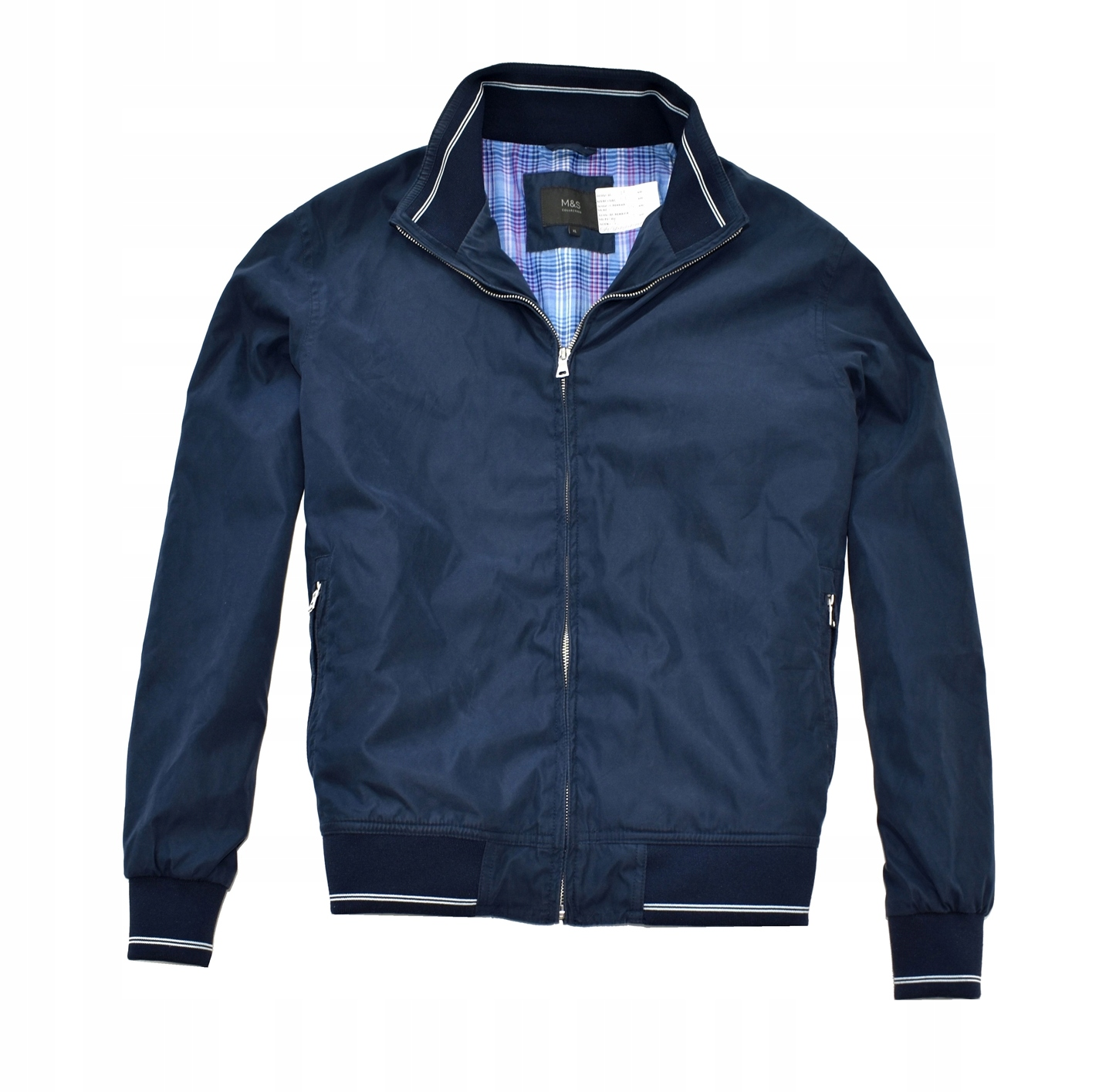 MM 347 M&S_ORYGINAL NAVY CASUAL JACKET_XL