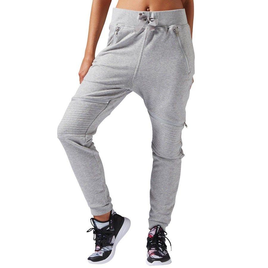 % Spodnie Reebok Dance Knit Moto Pant S93784 L
