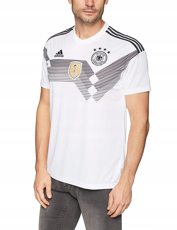 Koszulka męska adidas DFB Niemcy biała MŚ 2014 M