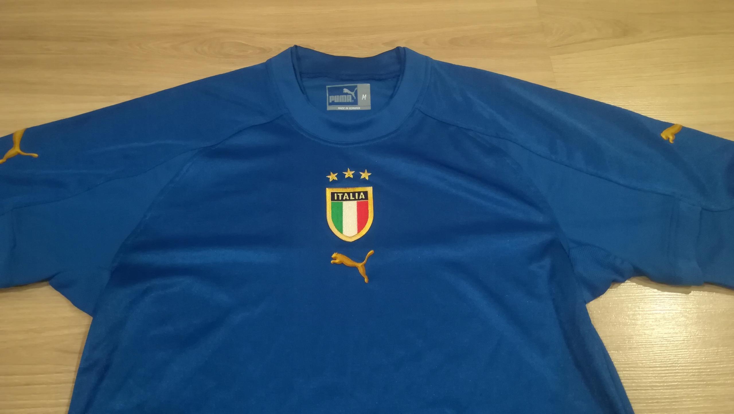 Puma koszulka Włochy home 2004-06 unikat