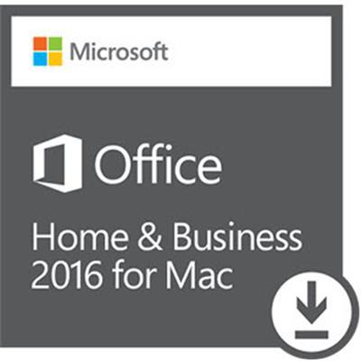 Microsoft Office Home Busines MAC 2016 32/64bit PL