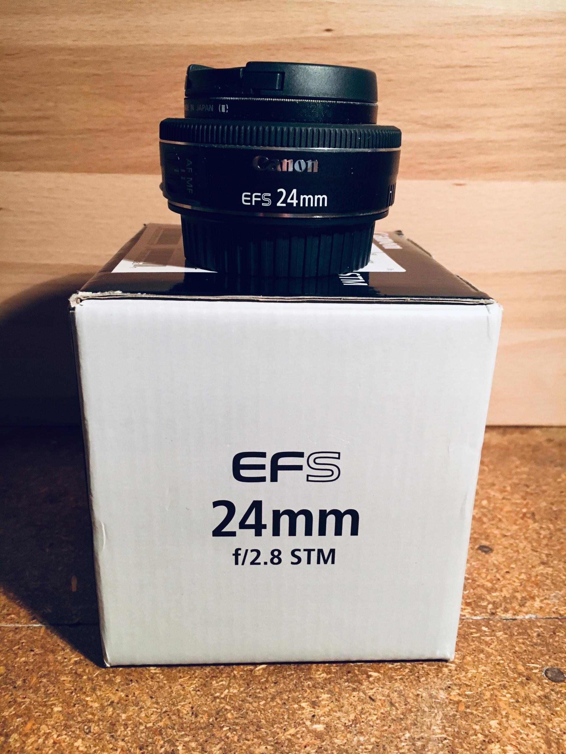 Obiektyw Canon EFS 24 mm f/2.8 STM $$$OKAZJA$$$
