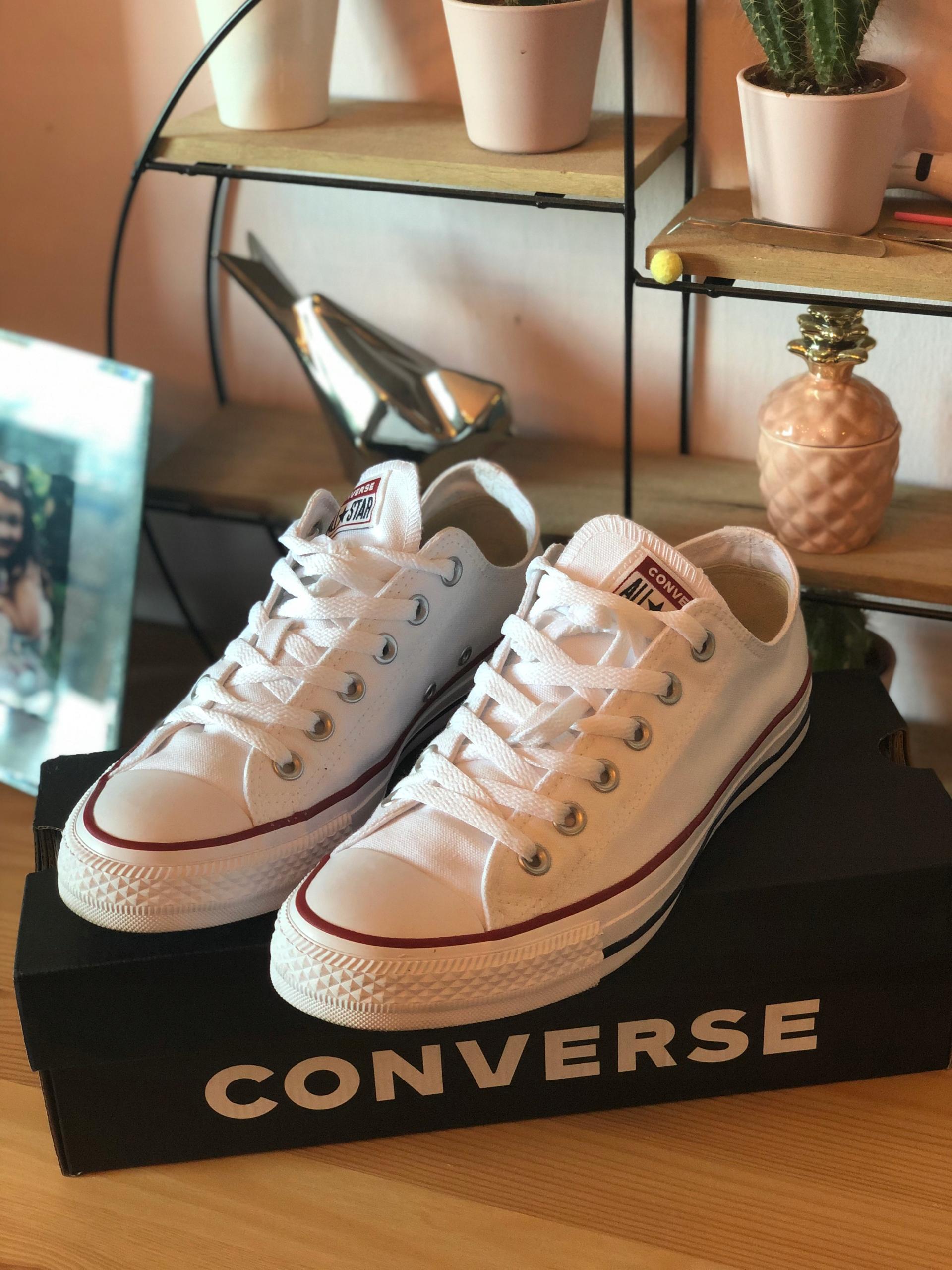 Converse All Star r 40/26cm NOWE GWARANCJA BIAŁE