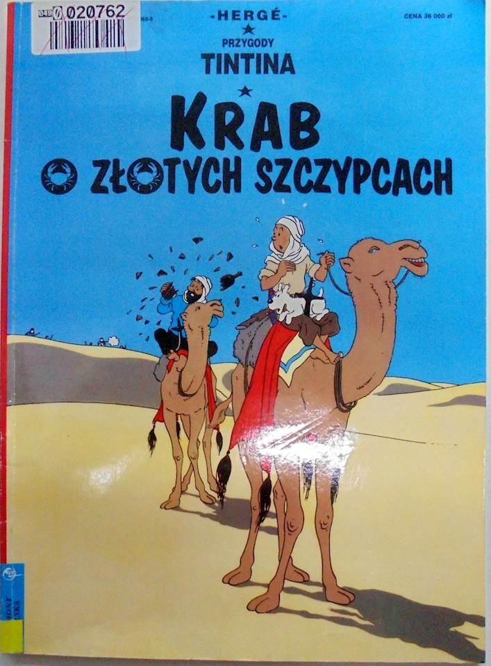 Przygody Tintina Krab o - Herge1994 24h wys
