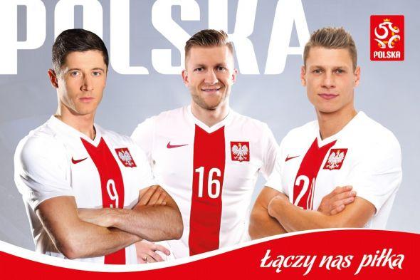 Błaszczykowski, Lewandowski, Piszczek - plakat