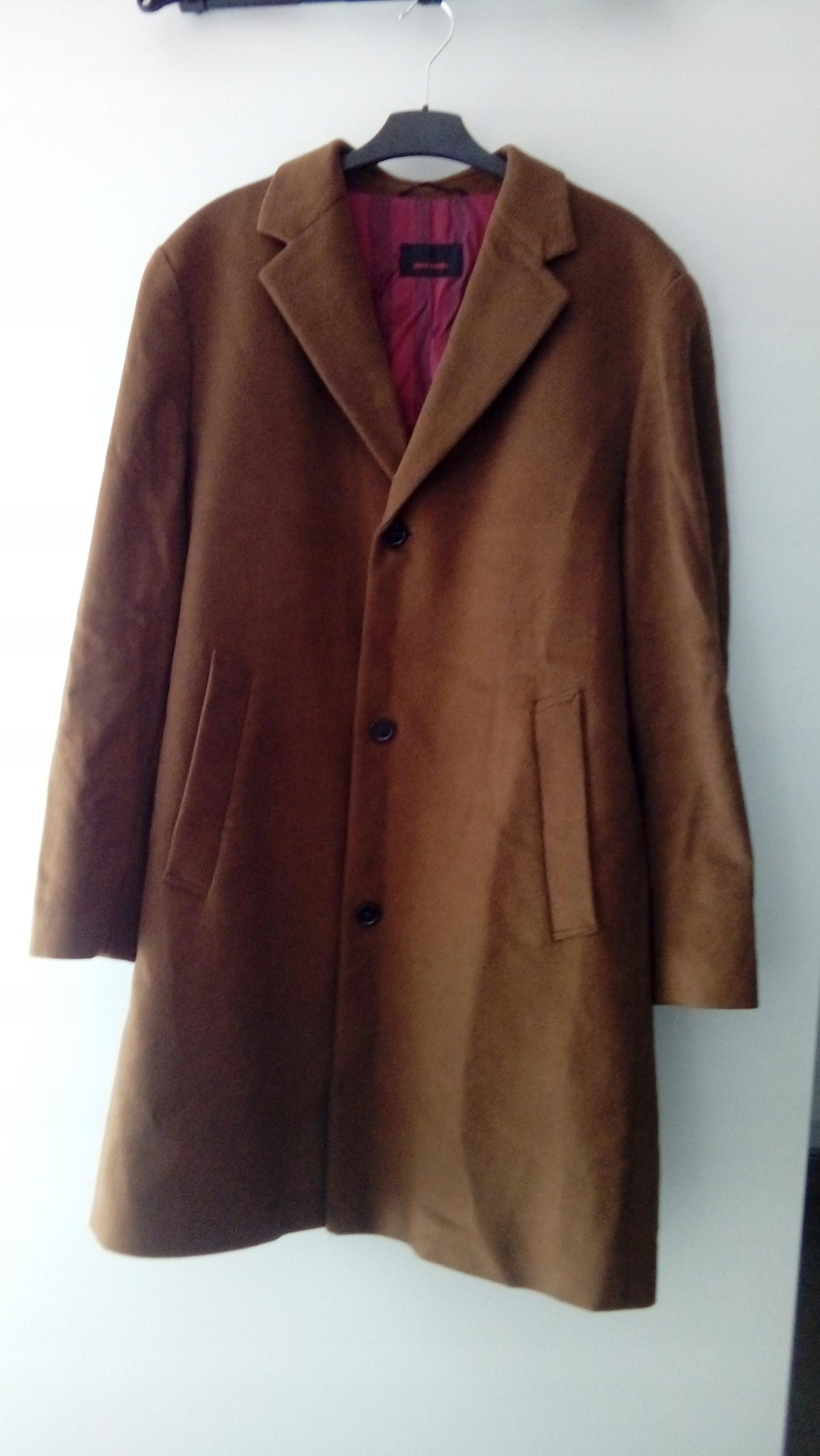 Płaszcz wełniany Pierre Cardin XL męski