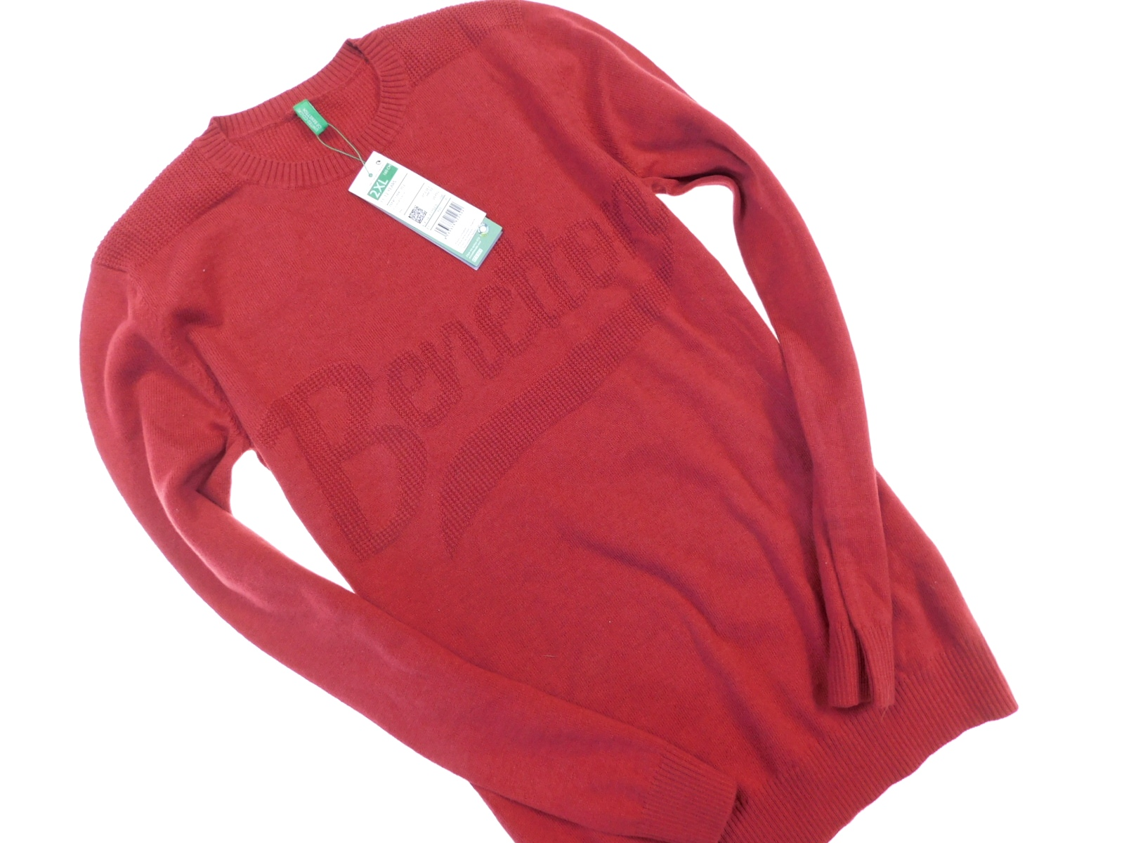 benetton nowy modny sweterek _ 11/12 160
